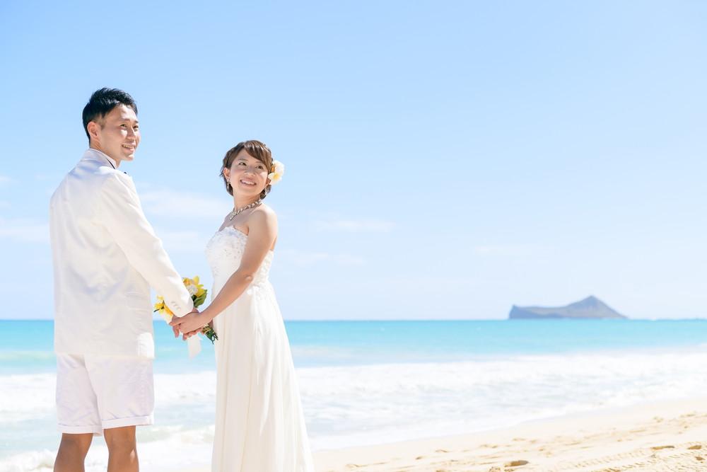 心癒される美しさハワイ ワイマナロビーチ