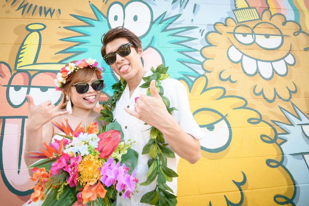 トロリーに乗ってハワイ大人気カカアコウォールアート!