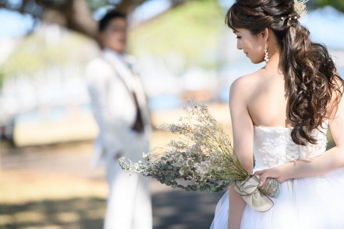 ハワイスタイル おすすめの花嫁ヘア