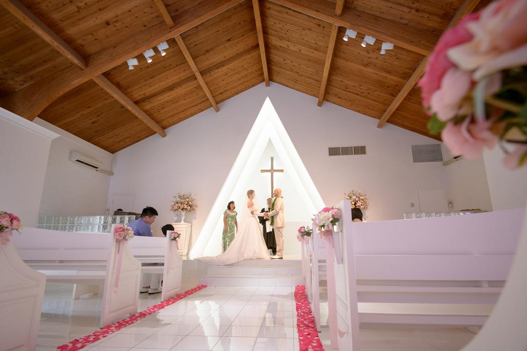 プリマリエ教会でアットホームなハワイ挙式