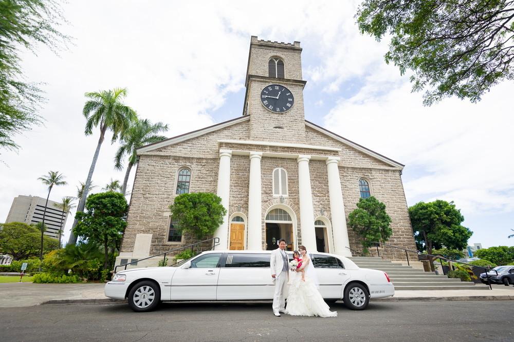 教会で永遠の愛を誓う ~カワイアハオ教会特集~