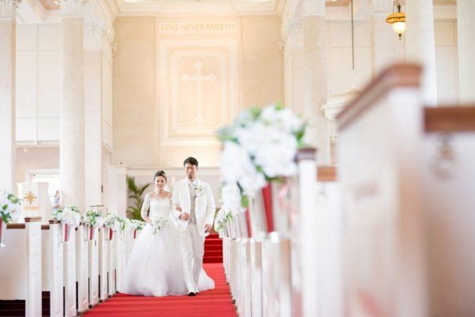 教会で永遠の愛を誓う ~セントラルユニオン大聖堂特集~