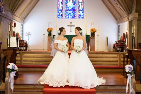 同性カップルのリーガルウエディング ~セントクレメンツ教会~