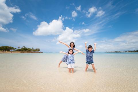 夏休みはハワイで思い出を! ~カジュアルビーチフォト特集~