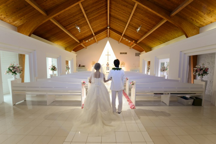 教会ウエディング (プリマリエ教会)