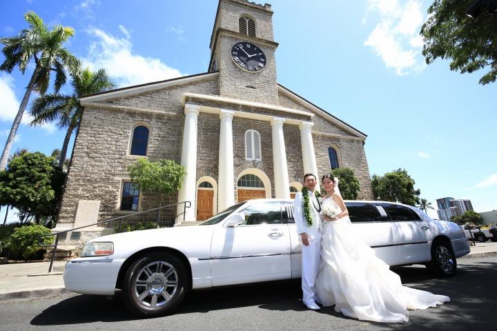 教会ウエディング (カワイアハオ教会)